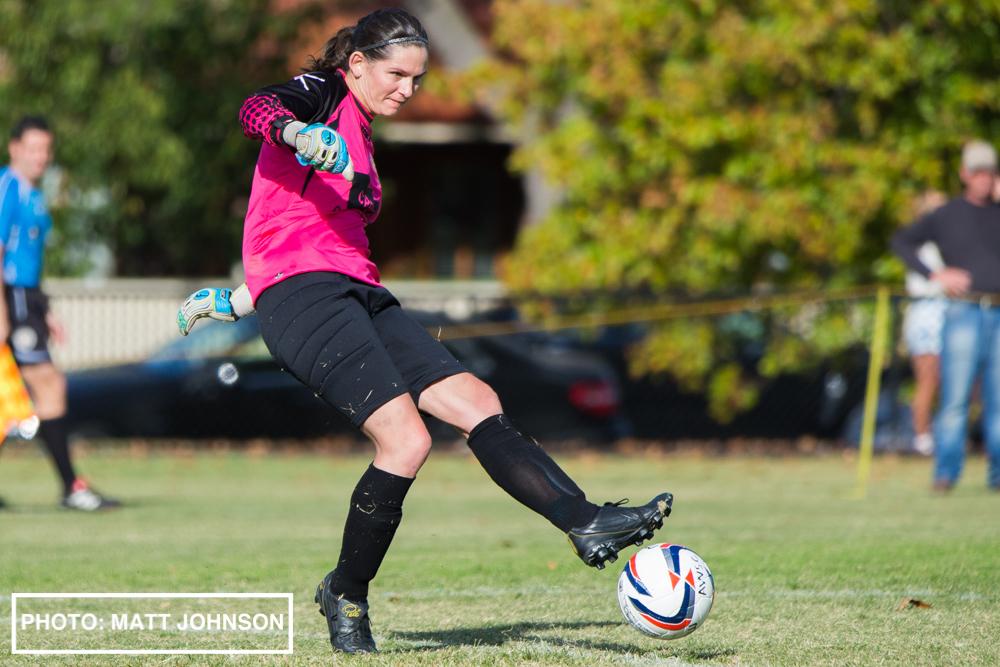 Ashburton Women's SC v Bulleen Lions Women's FC, Sportsmart WPL Round 2, 6 April 2014.