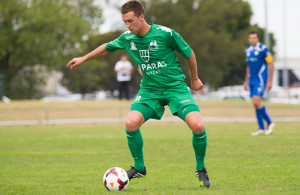 Northcote City FC v Bentleigh Greens SC, NPL Victoria Round 2, 30 March 2014.