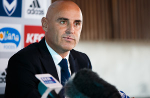 Melbourne Victory coach Kevin Muscat. Photo: Matt Johnson