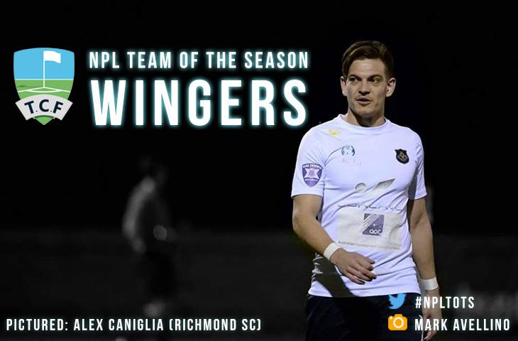 Team of the Season Wingers - Alex Caniglia (Richmond SC)
